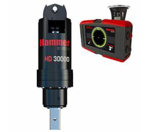Гидробур Hammer HD30000 (PRV) - гидровращатель