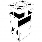 Цилиндр для любого гидромолота, централь, cylinder