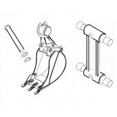 Пальцы и втулки для экскаватора Hitachi, Hyundai, Doosan, CAT, Komatsu, Volvo, Terex, John Deere
