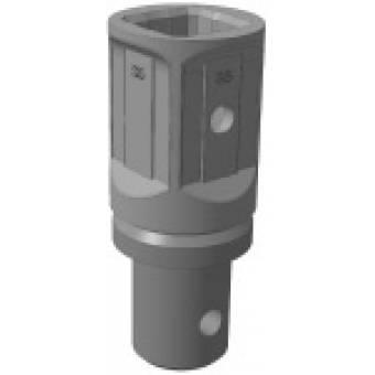 Переходник S5 квадрат 75 мм на вал диаметр 93 мм