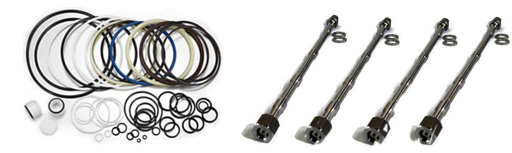 Стяжные шпильки (through bolt) на гидромолот, производство