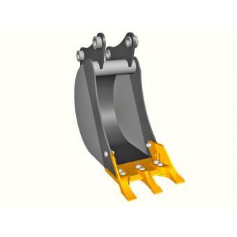 Ковш для экскаваторов-погрузчиков 300мм изстали DOMEX